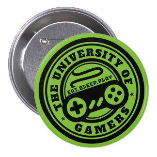 University of Gamers Logo Button