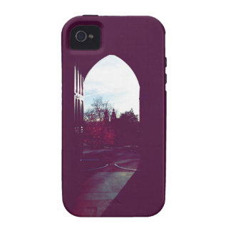 University of Glasgow in Fall Mood Doors Shade Case For The iPhone 4