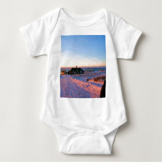 University of Greenland by Ozborne Whilliamsson Baby Bodysuit
