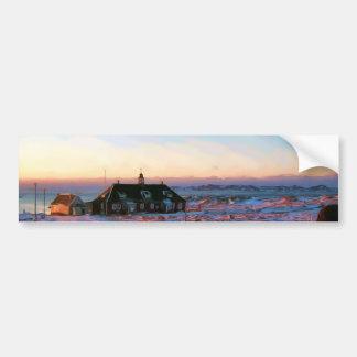University of Greenland by Ozborne Whilliamsson Car Bumper Sticker