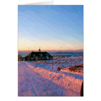 University of Greenland by Ozborne Whilliamsson Card