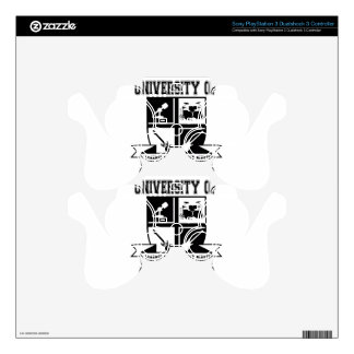 University of Hard Rock Skin For PS3 Controller