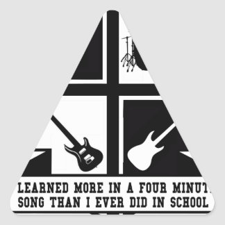 University of Hard Rock Triangle Sticker