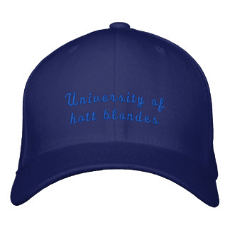 University of Hott Blondes hat