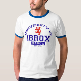 University of Ibrox T-shirts