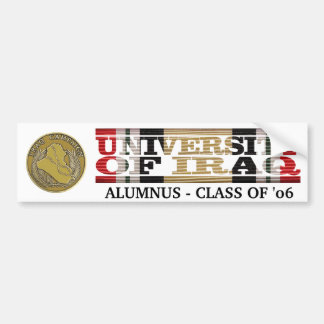 University of Iraq Alumnus Sticker