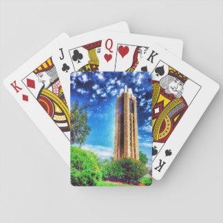 University of Kansas Campanile Playing Cards