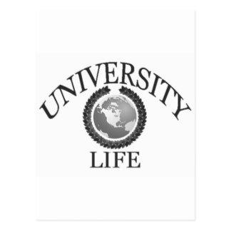 UNIVERSITY OF LIFE POSTCARD