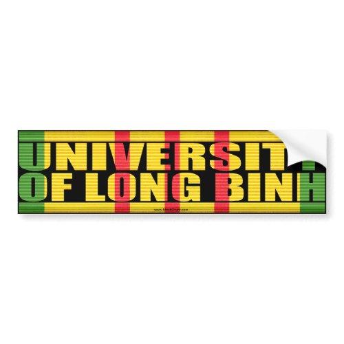 University of Long Binh Sticker