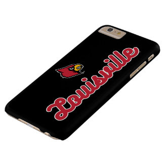 University of Louisville | Script Logo Barely There iPhone 6 Plus Case