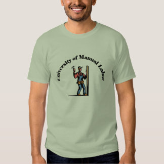 University of Manual Labor Tee Shirt