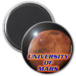 University of Mars 2 Inch Round Magnet