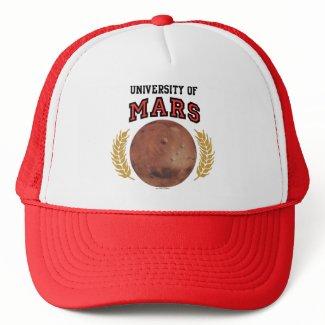 University Of Mars Hat