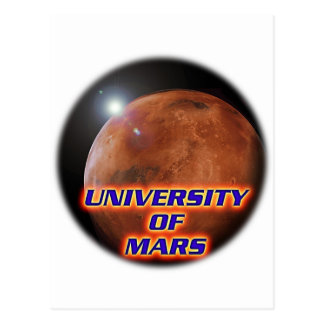 University of Mars Postcard