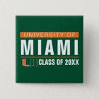 University of Miami Alumni Button