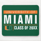 University of Miami Alumni Mouse Pad