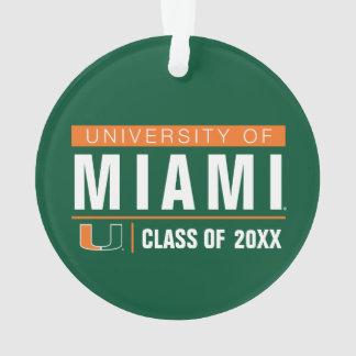 University of Miami Alumni Ornament
