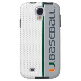 University of Miami Baseball Galaxy S4 Case
