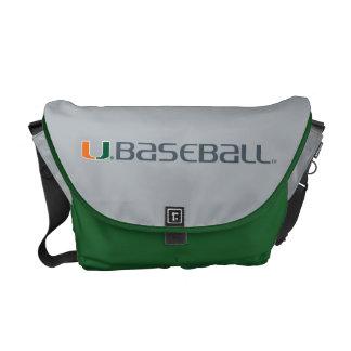 University of Miami Baseball Mark Messenger Bag
