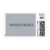 University of Miami Baseball Postage
