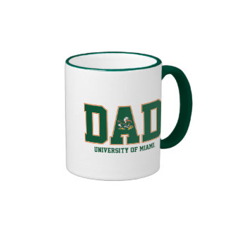 University of Miami Dad Ringer Coffee Mug