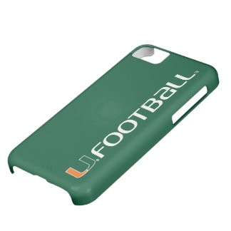 University of Miami Football Case For iPhone 5C