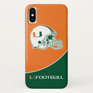 University of Miami Football iPhone X Case
