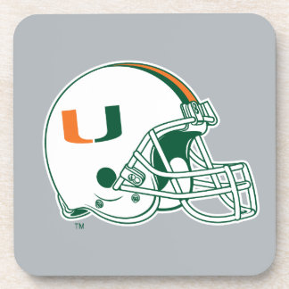 University of Miami Helmet Coaster