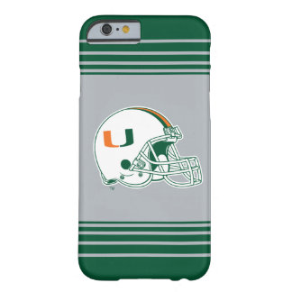 University of Miami Helmet Mark Barely There iPhone 6 Case