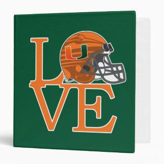 University of Miami Love Binder