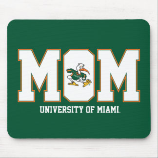 University of Miami Mom Mouse Pad