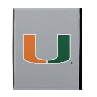 University of Miami Primary Mark iPad Folio Cover