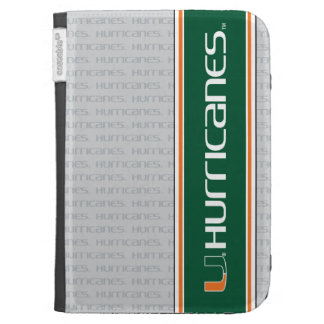 University of Miami Secondary Hurricanes Mark Kindle Folio Case
