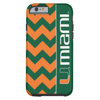 University of Miami Secondary Miami Mark Tough iPhone 6 Case