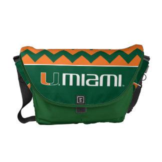 University of Miami Secondary Miami Mark Courier Bag