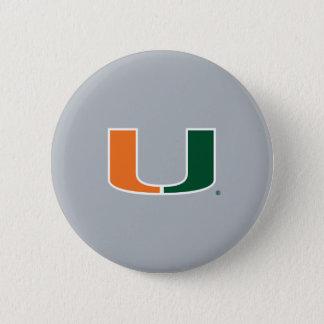 University of Miami U Button