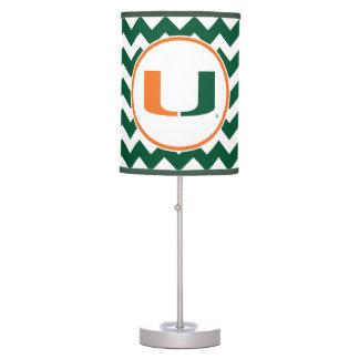 University of Miami U Desk Lamp