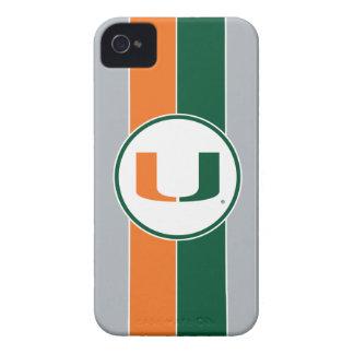 University of Miami U iPhone 4 Case