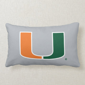 University of Miami U Lumbar Pillow