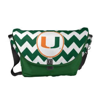 University of Miami U Messenger Bag