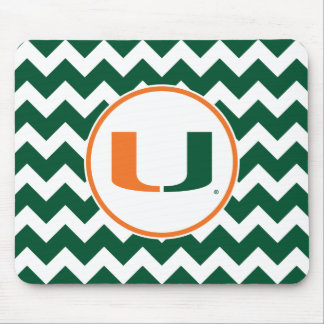 University of Miami U Mouse Pad