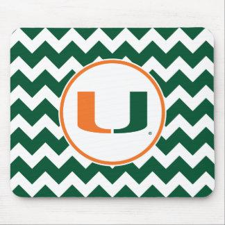 University of Miami U Mouse Pad