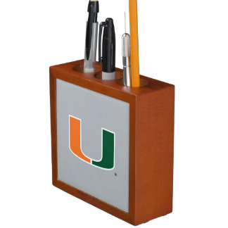 University of Miami U Pencil Holder