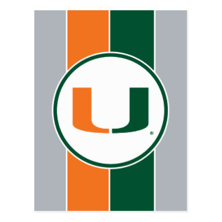 University of Miami U Postcard