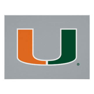 University of Miami U Poster