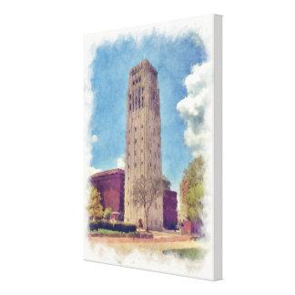 University of Michigan Clock Tower Canvas Print