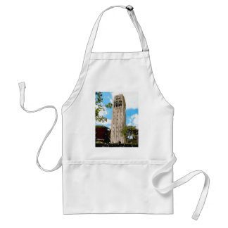 University of Michigan Tower Abstract Adult Apron