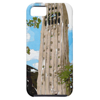 University of Michigan Tower Abstract iPhone SE/5/5s Case