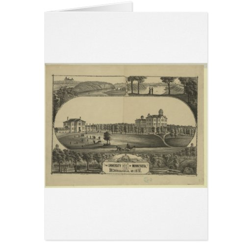 University of Minnesota - 1880 Greeting Card