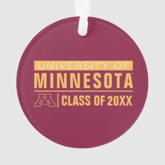 University of Minnesota Alumni Ornament